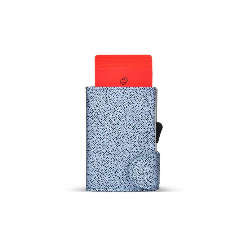 C Secure Fashion Wallet Blue